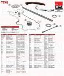 Fiat Doblo Idea Punto 1.3JTD, 1.3D multijet vezérműlánc készlet tck6