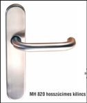 Inox kilincs+cím MH 820/19 U