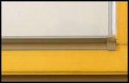 ZP 20 szárnytakaró profil rögzítő elem
