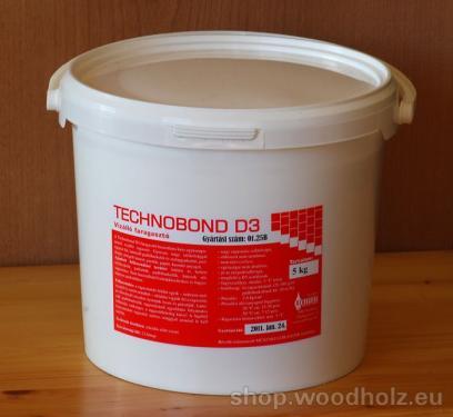 Technobond D3 faipari ragasztó 5 kg-os
