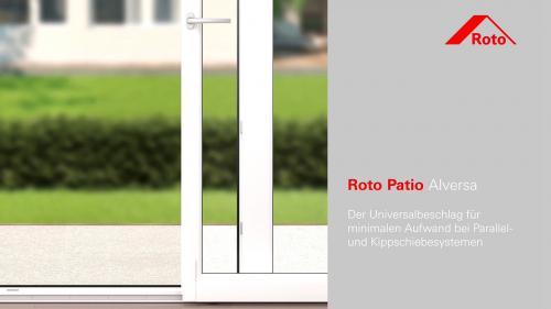"""Roto Alversa KS """"A"""" séma bukó-toló vasalat 900*2100"""