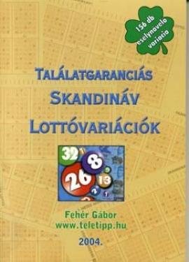 Találatgaranciás Skandinávlottó variációk (156 db)