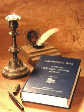 Grosschmid Béni : Fejezetek kötelmi jogunk köréből II. rész, 1-2. köte