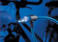 Burg-Wachter 340L biciklizár, világítós kulccsal