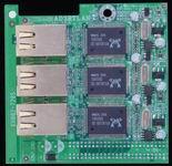 Jetway JAD3RTLANG 3 x Gigabit LAN bővítőlap