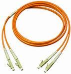 Optikai patch kábel LC-LC duplex 50/125um OM2 (multimódusú) 2m