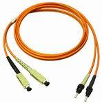 Optikai patch kábel ST-SC duplex 50/125um OM2 (multimódusú) 2m
