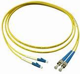 Optikai patch kábel ST-LC duplex 9/125um (monomódusú) 2m