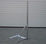 Stefino antenna konzol, lapostető