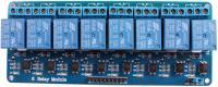8 Csatornás relé modul 5V (250V10A)