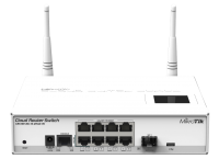 Cloud Router Switch CRS109-8G-1S-2HnD-IN wireless asztali switch