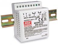 DR-45 45 Watt tápegység, DIN