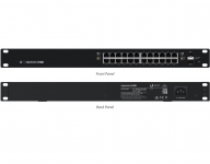 EdgeSwitch 24 port 500W Gigabit POE switch, Rack