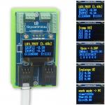 LK OLED/RTC/I2C kék OLED bővítő LK3-hoz