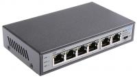 MaxLink PSAT-6-4P-250 4 portos POE switch + táp