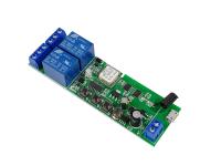 SmartWise Sonoff kompatibilis WiFi+RF relé 2 csat.
