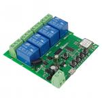 SmartWise Sonoff kompatibilis WiFi+RF relé 4 csat.