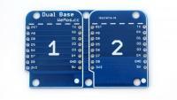 Wemos D1 Mini Dual Base V1.0.0