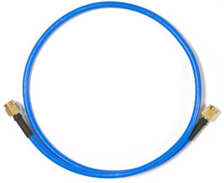 MikroTik RPSMA dugó - RPSMA dugó pigtail 50 cm (kék)