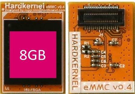 HARDKERNEL 8GByte eMMC Modul N2 Linux