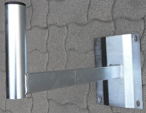 Stefino antenna konzol, falra szerelhető, hosszú