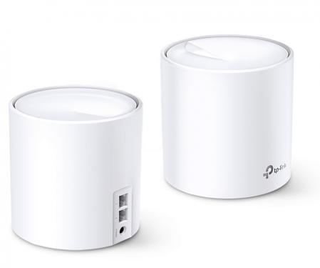 TP-Link Deco X20 AX1800 Wi-Fi 6 Mesh rendszer 2-pack