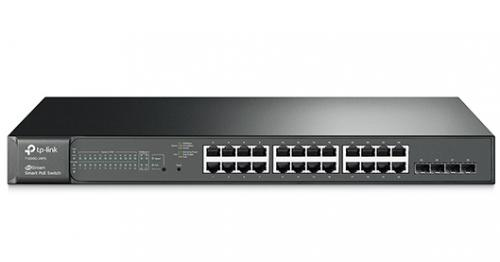 TP-Link T1600G-28PS 24+4 portos Gigabit POE switch