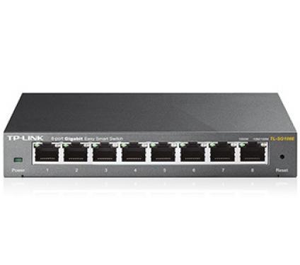TP-Link TL-SG108E 8 port Gigabit smart switch
