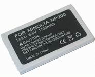 Minolta utángyártott akkumulátor NP-200 NP200
