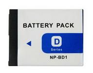 Sony NP-BD1 NP-FD1 akku Szállítási díj 600,- Ft