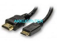 HDMI A-normál HDMI C-micro kábel