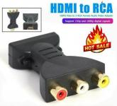 HDMI dugó - 3x RCA audio-videó adapter