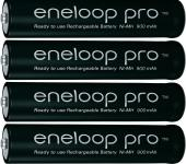 Panasonic Eneloop AAA PRO 4 db akku tokkal Posta díj 600 Ft