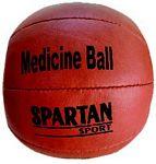 Spartan bőr medicinlabda, 1 kg