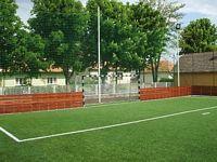 Futballkapu 5x2 m fém, hüvelyes