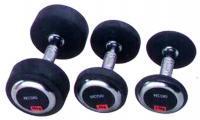 Profi súlyzó gumiborítással 12.5 kg