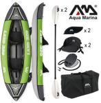Aqua Marina: LAXO-320 kétszemélyes felfújható kajak készlet