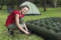 Bestway Flocked felfújható matrac Dupla ágy