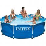 INTEX FÉMVÁZAS MEDENCE TEST, 244X51 CM - 28205