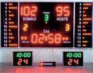 Kosárlabda Komplet Maxi eredményjelző