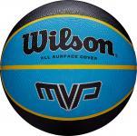 Kosárlabda Wilson MVP gumi 7-es méret fekete-kék