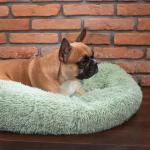 Nyugtató kutyaágy, macskaágy, 80 cm,  menta