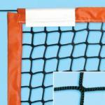 Strandteniszháló PP, 40 mm PVC szegés 33130022 olasz