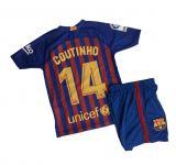 Barcelona Coutinho hazai gyermek mezgarnitúra 2018/19