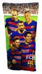 Barcelona csapatos törölköző