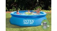 Intex Easy vízforgatós medence szett vízforgatóval