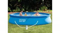 Intex Easy vízforgatós medence szett, vízforgatóval
