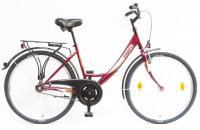 Kerékpár BUDAPEST A 26/17 GR 2020 BORDÓ YS-7496