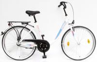 Kerékpár BUDAPEST B 26/18 GR 19 FEHÉR