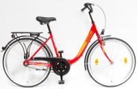 Kerékpár BUDAPEST B 26/18 GR 19 PIROS